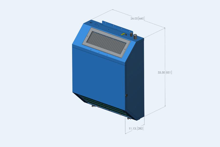 931SE Slim Line Evaporator