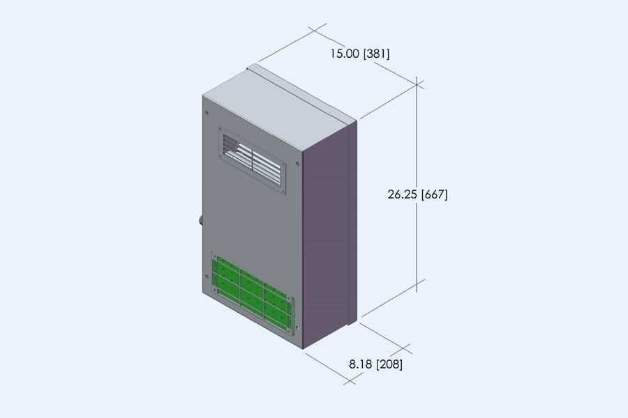 LHDE 1 Ton Evaporator