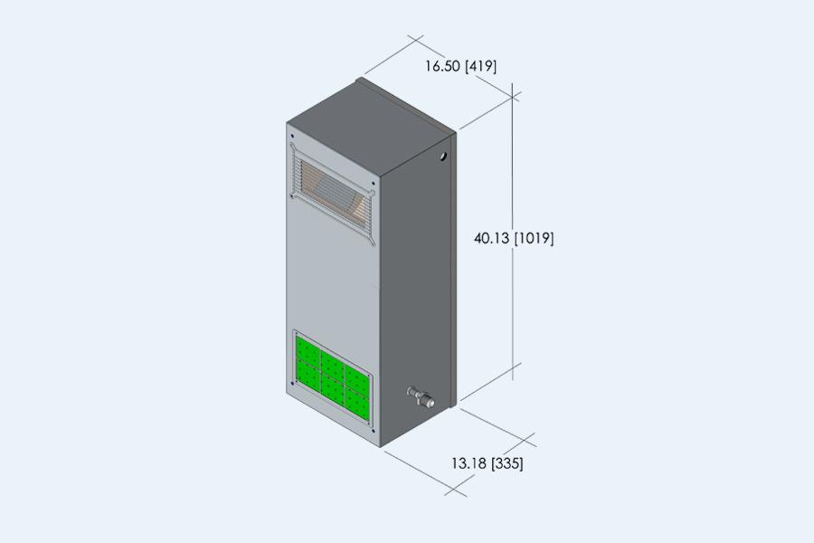 LHDE 2 Ton Evaporator
