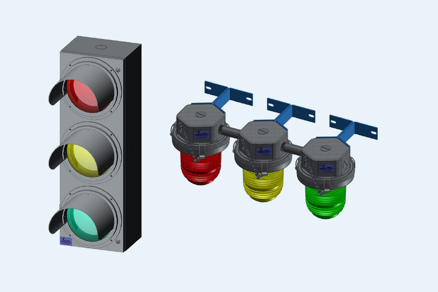 safety and signal lights